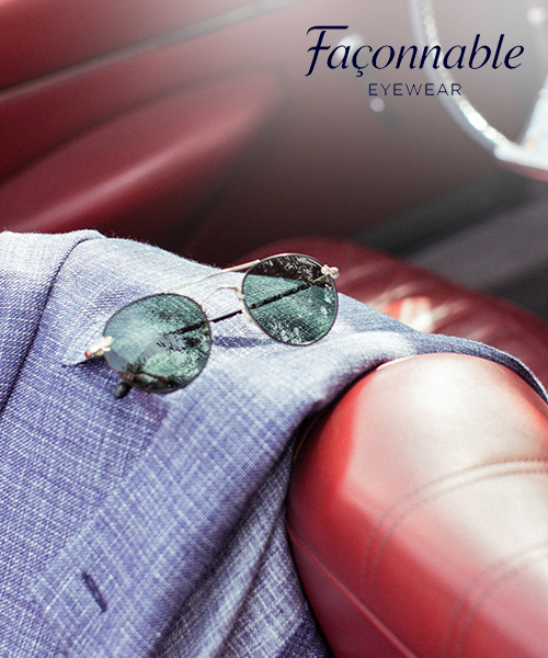 fcd96e4376e5a0 Fijne Franse Façonnable zonnebrillen